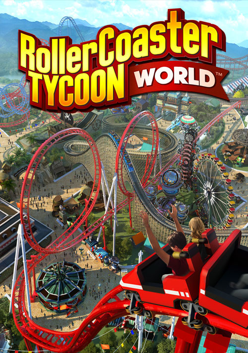 RollerCoaster Tycoon World - Cover / Packshot