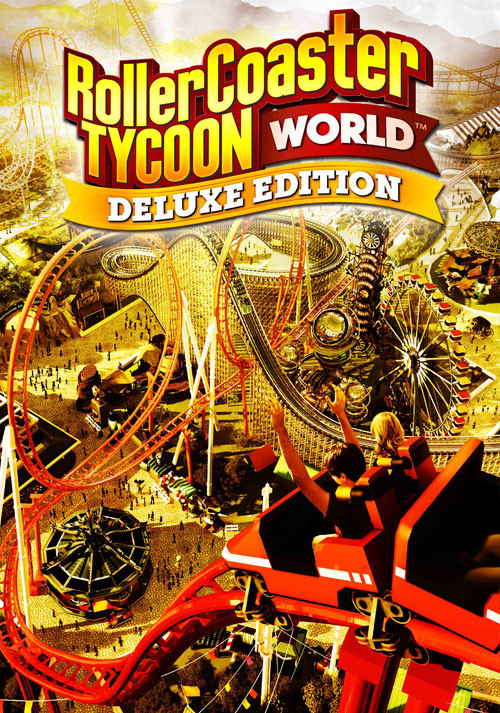 RollerCoaster Tycoon World Deluxe Edition - Cover / Packshot