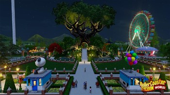 Screenshot1 - RollerCoaster Tycoon World Deluxe Edition