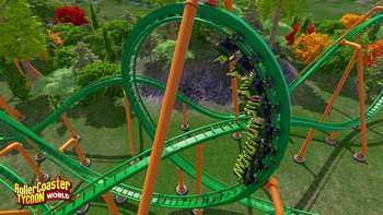 Screenshot2 - RollerCoaster Tycoon World Deluxe Edition