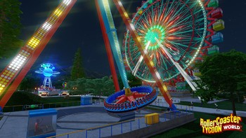 Screenshot3 - RollerCoaster Tycoon World Deluxe Edition