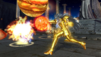 Screenshot2 - Saint Seiya: Soldiers' Soul