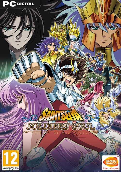 Saint Seiya: Soldiers' Soul - Cover / Packshot