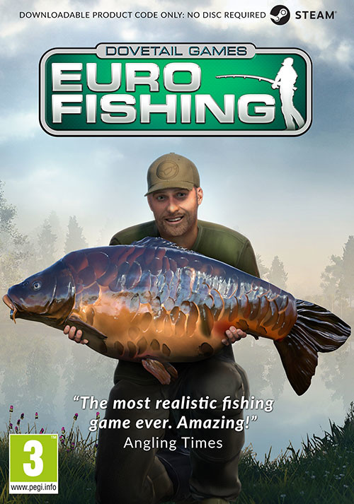 Euro Fishing - Cover / Packshot
