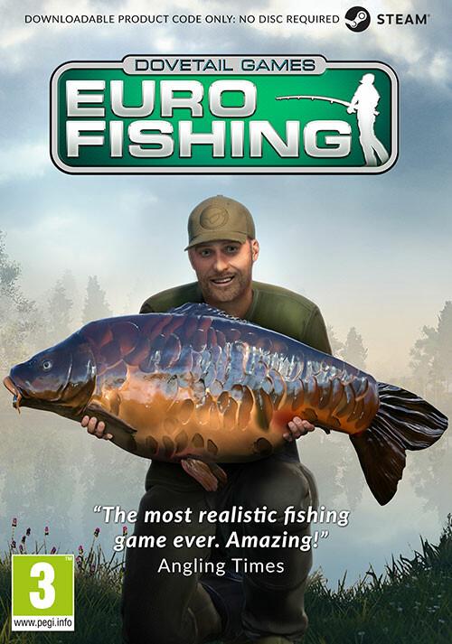 Euro Fishing - Cover / Packshot