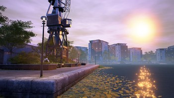 Screenshot1 - Euro Fishing: Foundry Dock