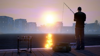 Screenshot3 - Euro Fishing: Foundry Dock