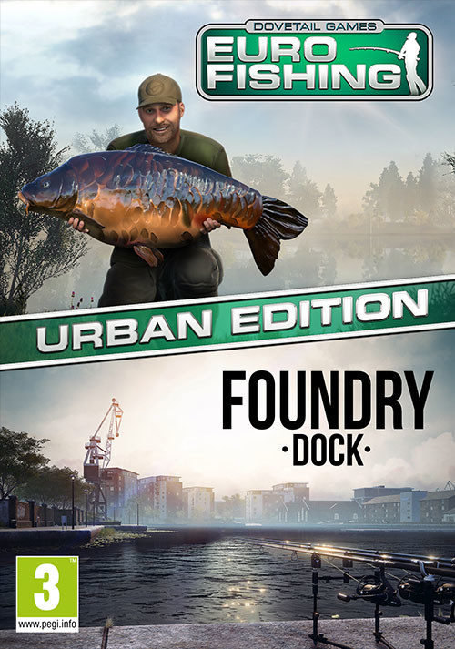 Euro Fishing: Urban Edition  - Packshot