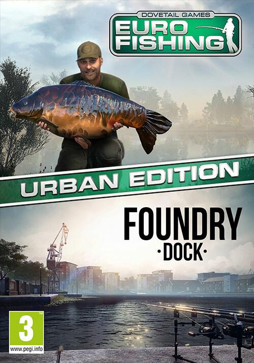 Euro Fishing: Urban Edition  - Packshot