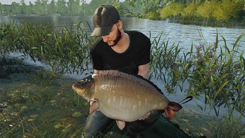 Screenshot1 - Euro Fishing: Manor Farm Lake