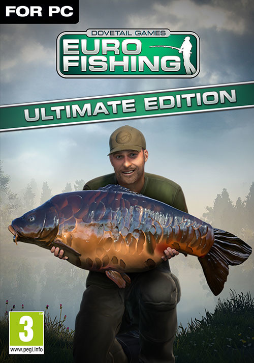 Euro Fishing: Ultimate Edition - Cover