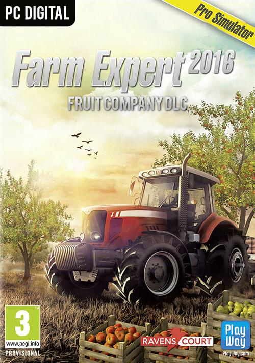 Farm Expert 2016 - Fruit Company DLC - Cover