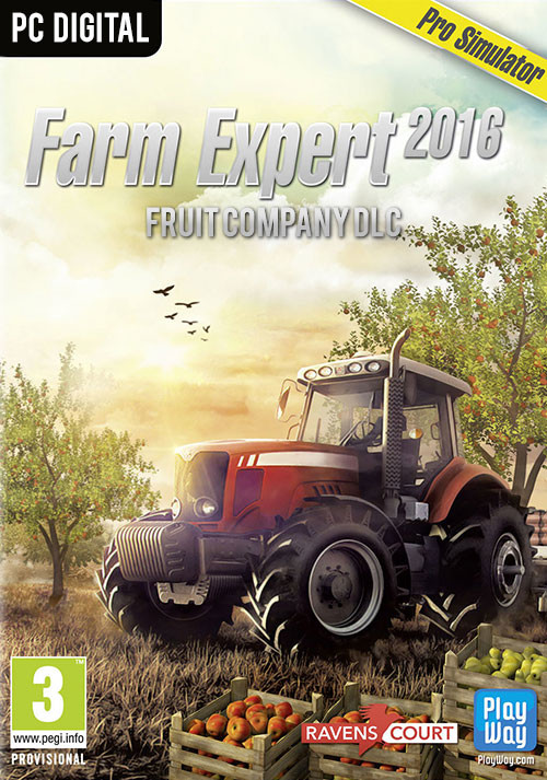 Farm Expert 2016 - Fruit Company DLC - Cover / Packshot