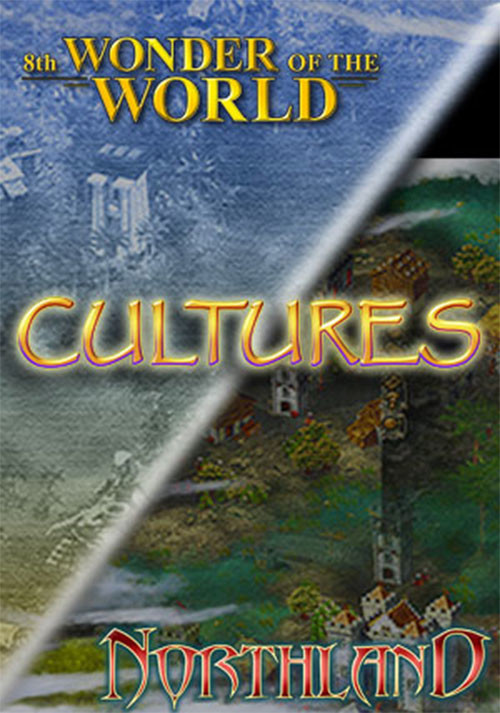 Cultures: Northland + 8th Wonder of the World - Cover