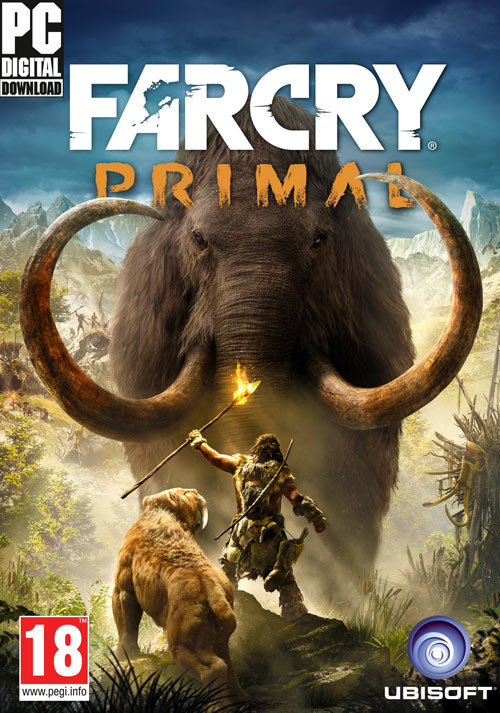 Far Cry Primal - Cover / Packshot