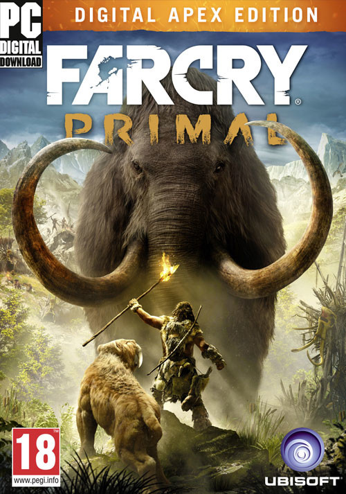 Far Cry Primal Digital Apex Edition - Cover