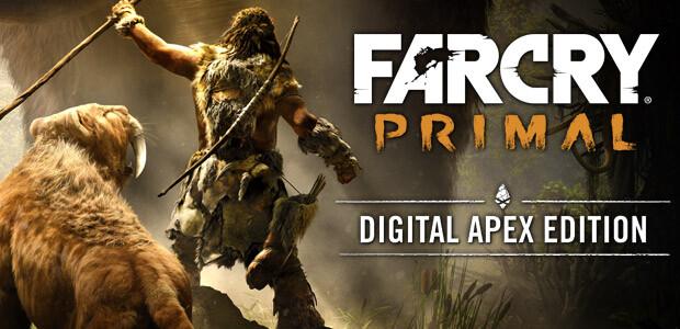 Far Cry Primal Digital Apex Edition - Cover / Packshot