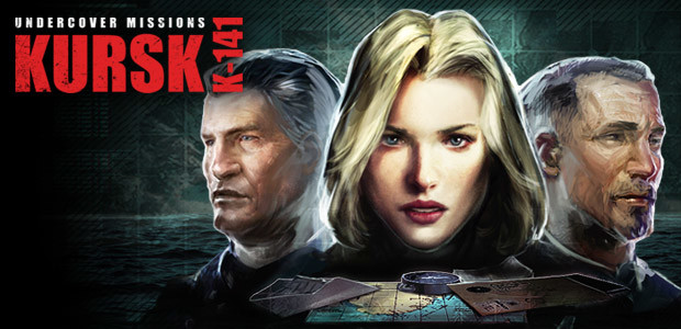 Undercover Missions: Operation Kursk K-141 - Cover / Packshot