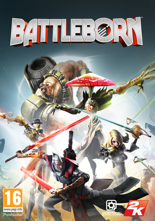 Battleborn - Packshot