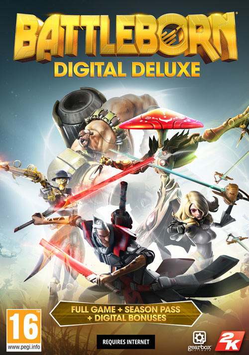 Battleborn Digital Deluxe - Packshot