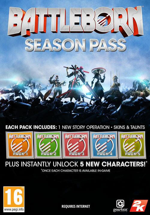 Battleborn Season Pass - Packshot