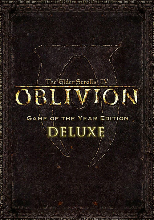The Elder Scrolls IV: Oblivion GOTY Edition Deluxe - Cover / Packshot