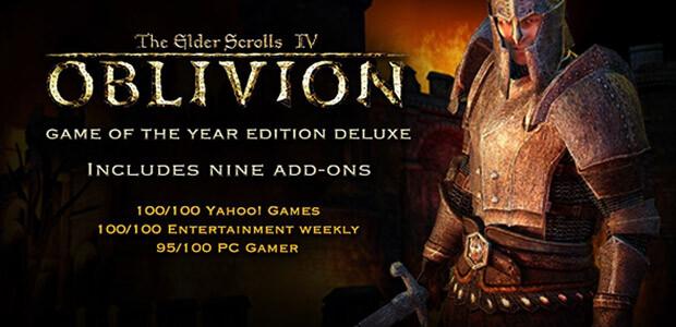 The Elder Scrolls IV: Oblivion GOTY Edition Deluxe - Cover / Packshot