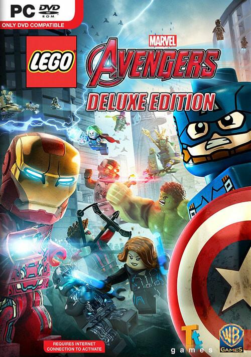 LEGO Marvel's Avengers Deluxe Edition - Cover / Packshot