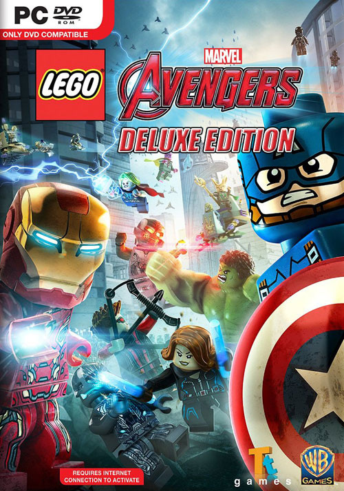 LEGO Marvel's Avengers Deluxe Edition - Cover