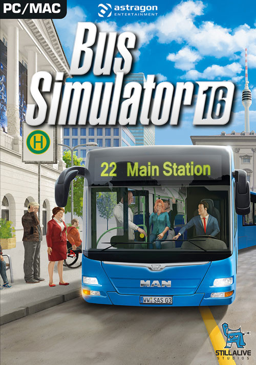Bus Simulator 2016 - Cover