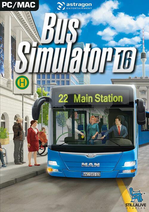 скачать игру bus simulator 2016 через торрент на русском