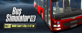 Bus Simulator 16: MAN Lion´s City A47 M DLC 1
