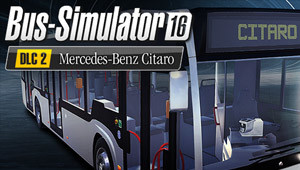 Bus Simulator 16: Mercedes-Benz-Citaro DLC 2