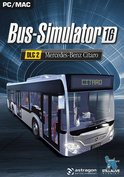bus simulator 16 mercedes benz citaro dlc 2 cl cd steam acheter et t l charger sur pc et mac. Black Bedroom Furniture Sets. Home Design Ideas