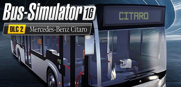 Bus Simulator 16: Mercedes-Benz-Citaro DLC 2 - Cover / Packshot