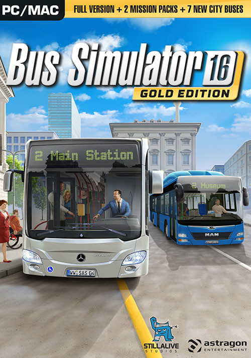 bus simulator 16 gold edition steam cd key f r pc und mac online kaufen. Black Bedroom Furniture Sets. Home Design Ideas