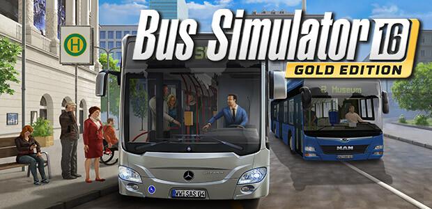 Bus Simulator 16: Gold Edition - Cover / Packshot