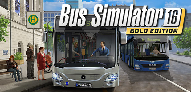 Bus Simulator 16: Gold Edition - Cover / Packshot