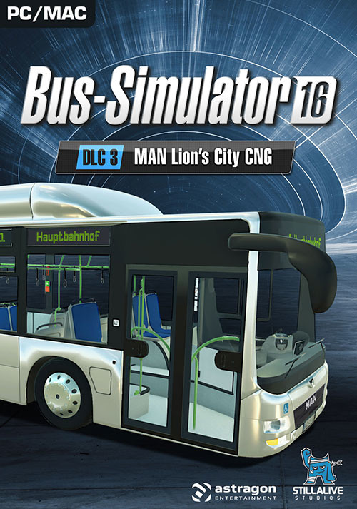 Bus Simulator 16: MAN Lion´s City CNG Pack DLC 3 - Cover / Packshot