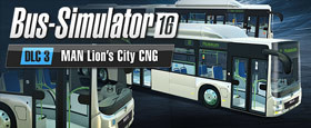 Bus Simulator 16: MAN Lion´s City CNG Pack DLC 3