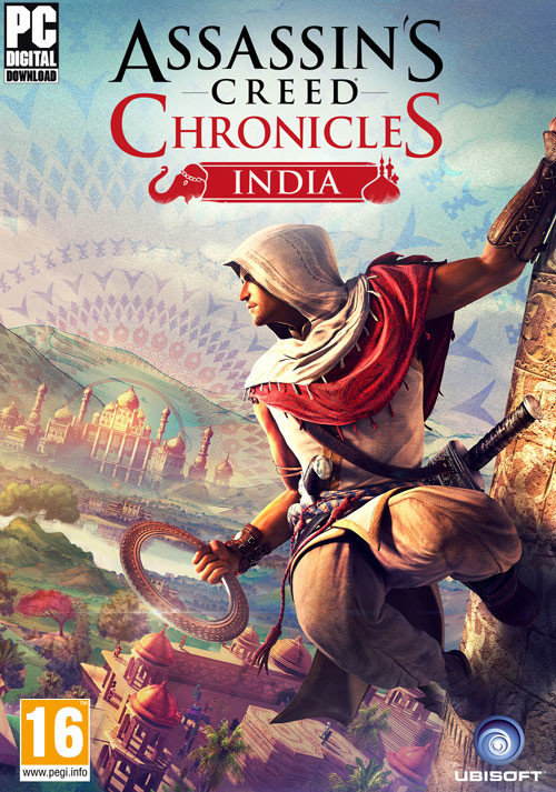 Assassin's Creed  Chronicles: India - Cover / Packshot