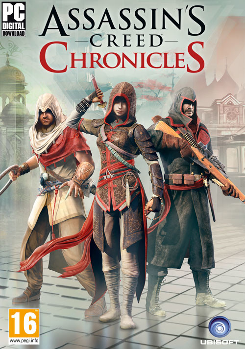 Assassin's Creed Chronicles - Trilogy - Cover