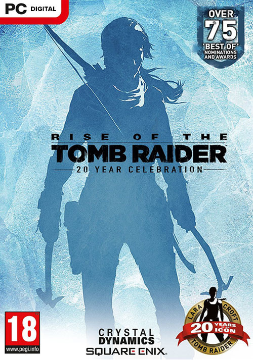 Rise of the Tomb Raider: 20 Year Celebration - Cover / Packshot