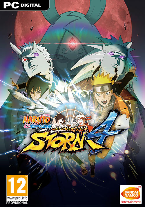 Image result for NARUTO SHIPPUDEN Ultimate Ninja STORM 4 cover pc
