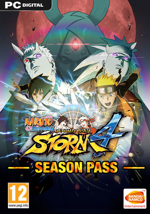 NARUTO SHIPPUDEN: Ultimate Ninja STORM 4 - Season Pass - Cover