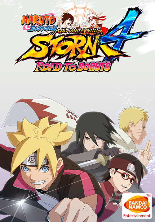 NARUTO SHIPPUDEN: Ultimate Ninja STORM 4 - Road to Boruto DLC - Cover