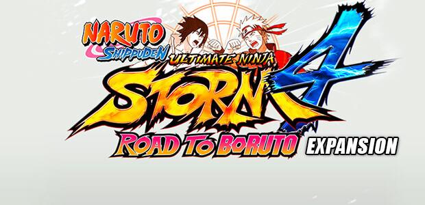 NARUTO SHIPPUDEN: Ultimate Ninja STORM 4 - Road to Boruto DLC - Cover / Packshot