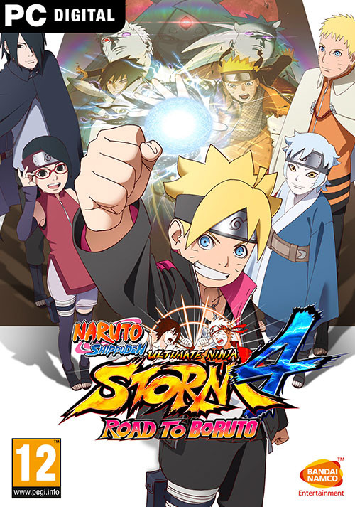 NARUTO SHIPPUDEN: Ultimate Ninja STORM 4 - Road to Boruto - Cover