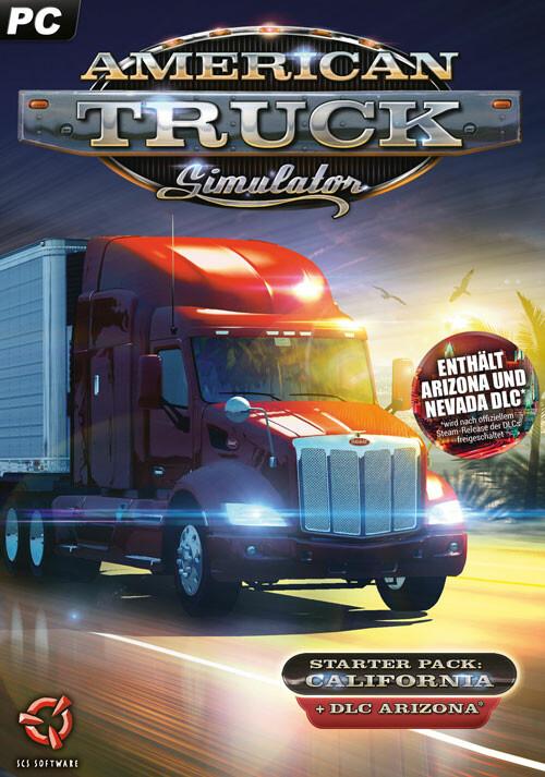 American Truck Simulator - Packshot