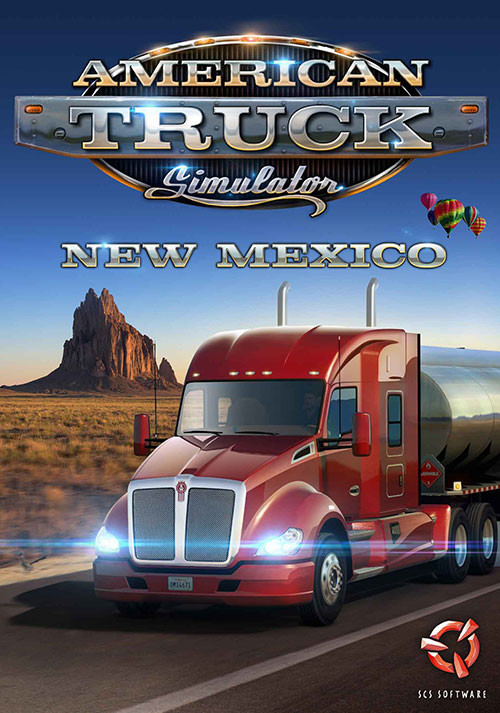 American Truck Simulator - New Mexico - Cover / Packshot